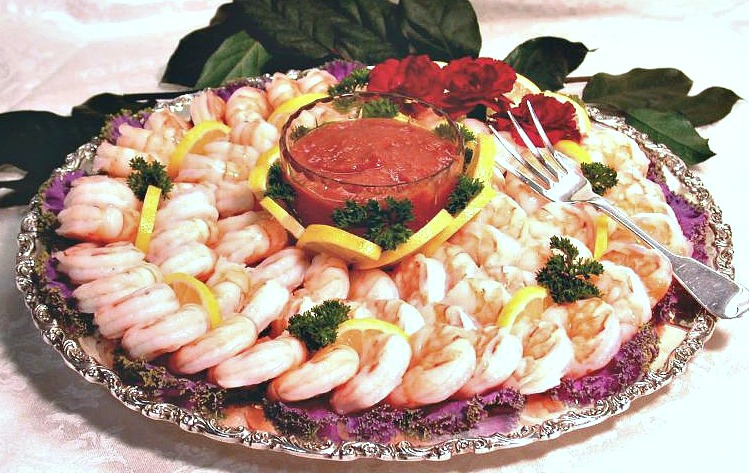 SHRIMP TRAY -CUSTOMER'S TRAY