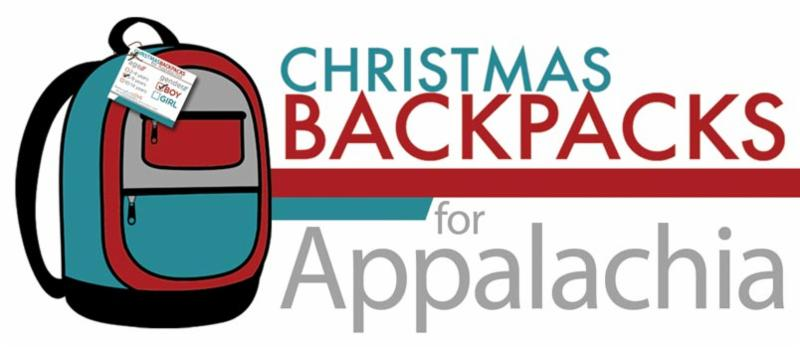 christmas backpacks logo