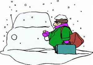 snowcovered car