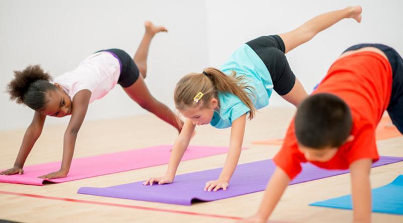 kids yoga aspen hill club