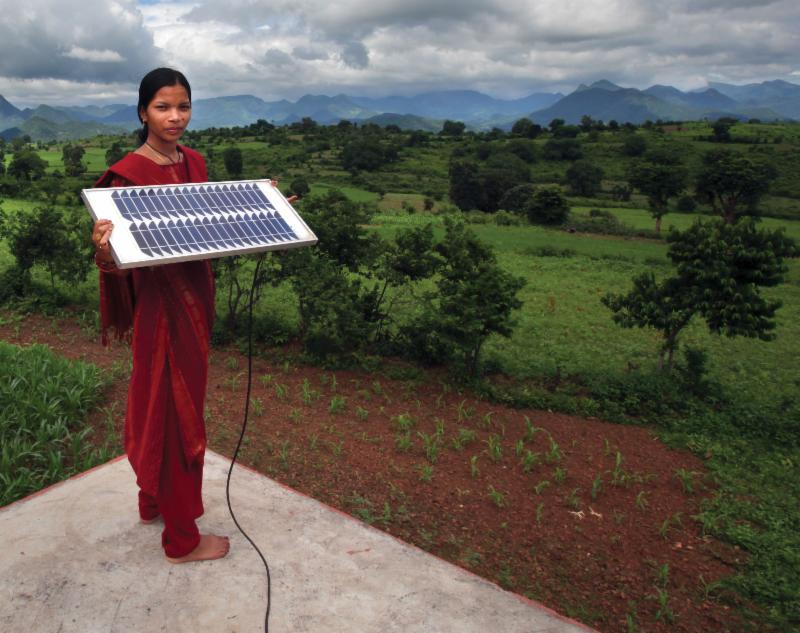 Inexpensive solar cells could provide electricity for every home in underdeveloped economies.