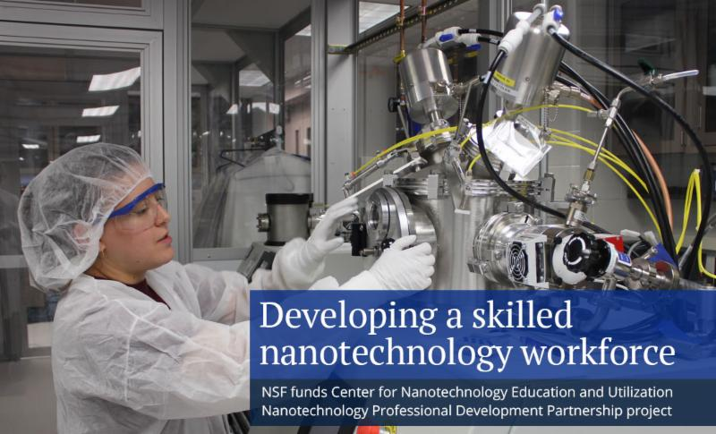 NSF funding to aid Penn State CNEU in developing nanotechnology workforce