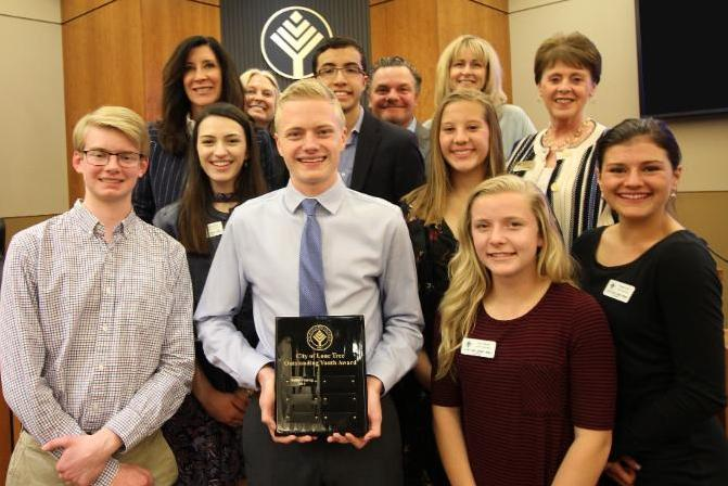 Hunter Fleming Named 2018 Outstanding Youth Of Lone Tree