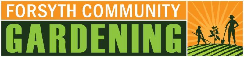 Forsyth Community Gardening Logo