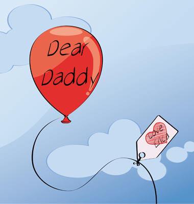 Dear Daddy Red Balloon