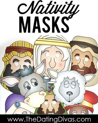 Nativity Masks