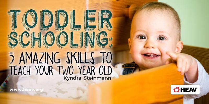 Toddler Schooling