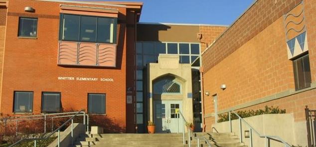 Whittier School photo