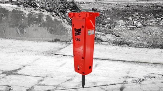 Rammer 155 Hydraulic Hammer