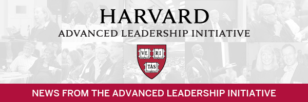 News from the Advanced Leadership Initiative