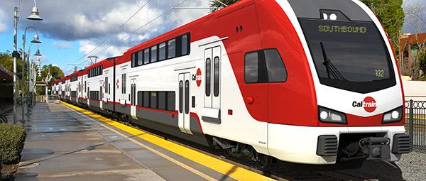 rendering of train