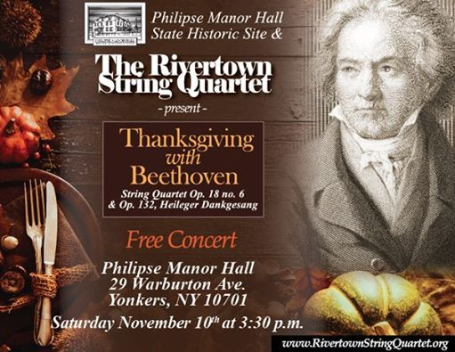 thanksgiving beethoven pmh