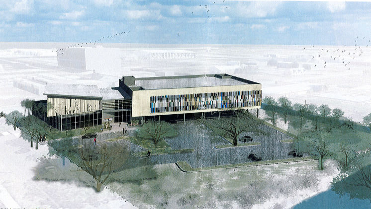 Artist's rendering of new incubator in Pinellas County.