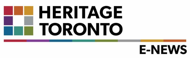 Heritage Toronto E-news