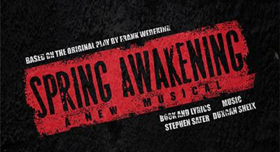 Theatre Arts Department Presents Spring Awakening
