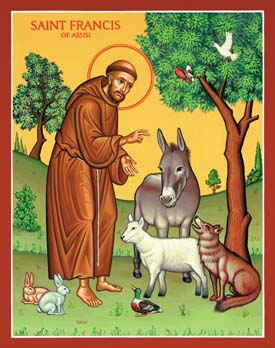 St. Francis and Animals