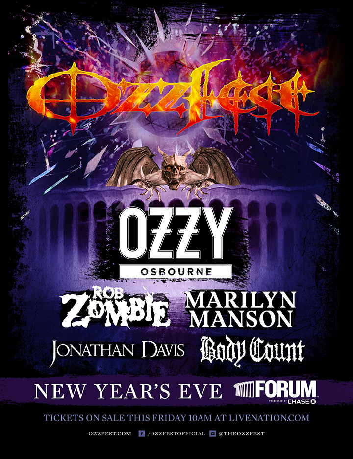 OZZFEST New Year's Eve Los Angeles Spectacular | Mitch ...