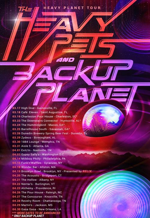 Backup Planet Nashville Jam Rock Band Set To Release