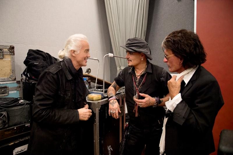 JOE PERRY Takes Time Off to Travel to Japan With Johnny Depp