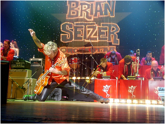 his 19 piece the brian setzer orchestra have announced their 14th annual christmas rocks tour presented for the second consecutive year by siriusxm - What Channel Is Christmas Music On Sirius Xm