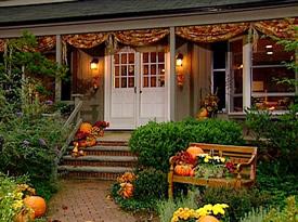 Thanksgiving Porch