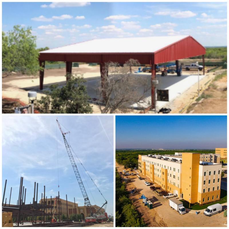 University Construction Updates