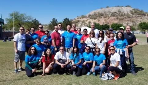 UofACOM Dept. of Psychiatry NAMIWalks Southern AZ Team 2017