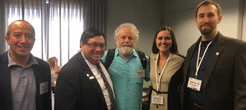 Drs. Espinoza and Herman joined by other ArMA HOD Attendees