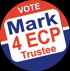 Vote Mark 4 ECP Trustee Button