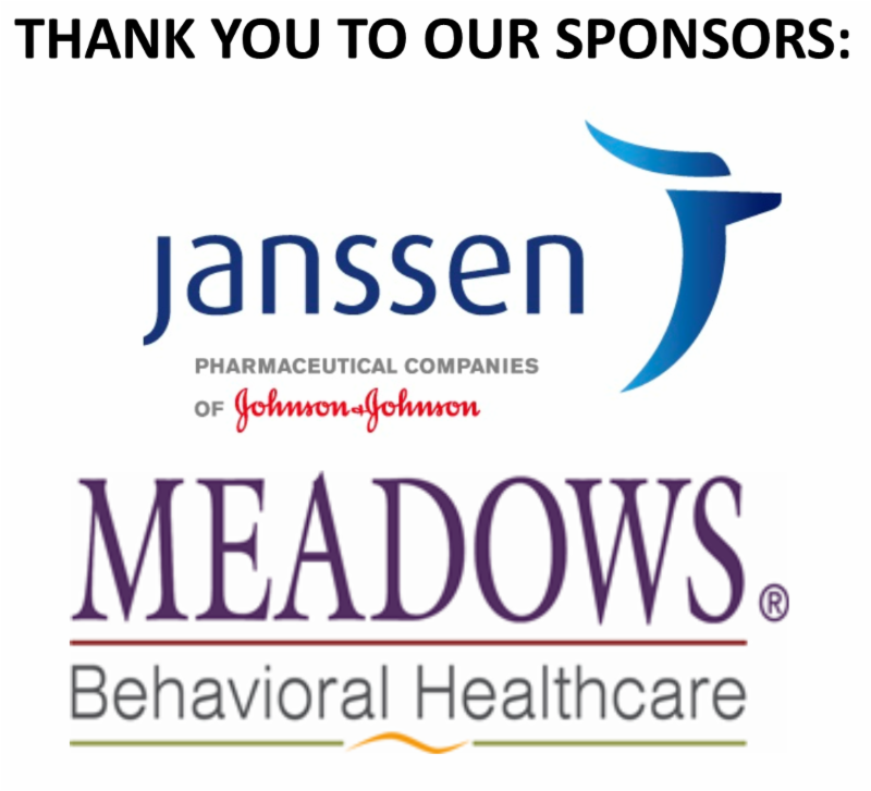 Thank you to Janssen_Johnson _ Johnson Health Care Systems_ Inc. and Meadows Behavioral Healthcare for sponsoring