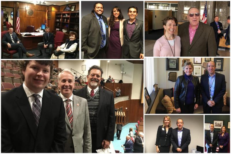 Az Psych Members as Doctors of the Day at Arizona Legislature