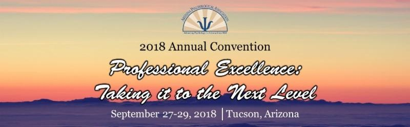 2018 Az Psychological Association Annual Convention