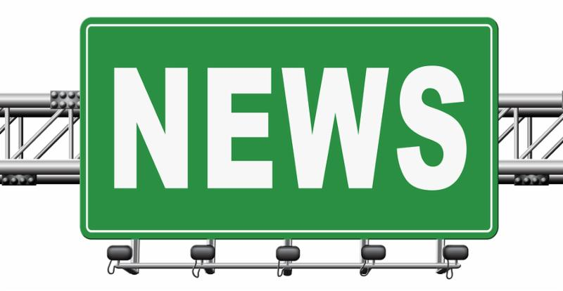 hot and latest news bulletin breaking new information_ 3D_ illustration
