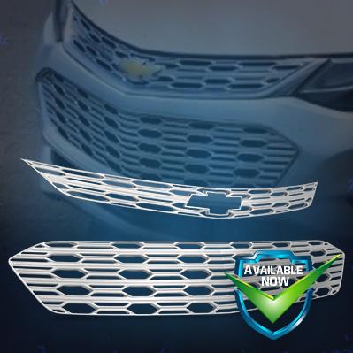 GI155  CCI Grille Overlays  16-18 Chevrolet Cruze