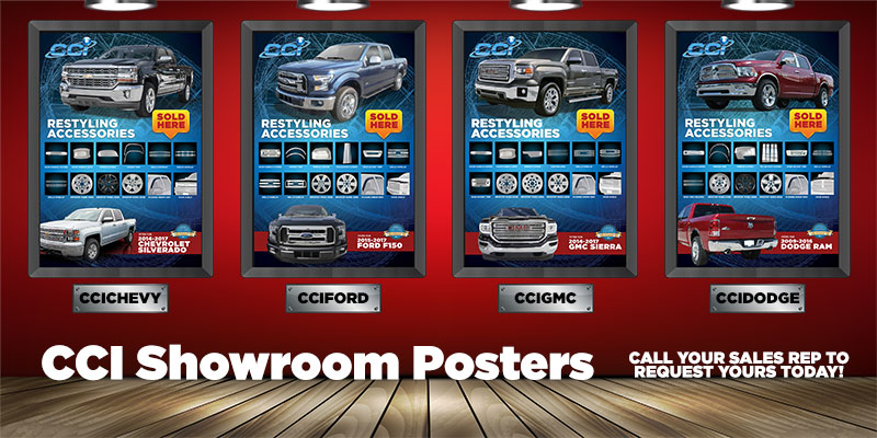 CCI Showroom Posters