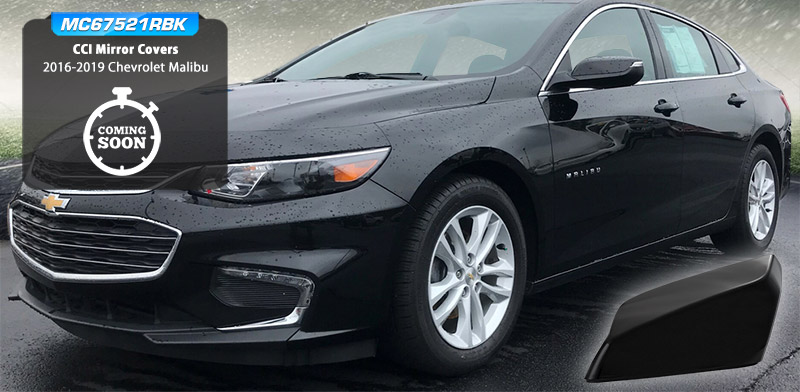 CCI Mirror Covers for the Chevrolet Malibu