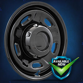 IMP96BLK Impostor Series Wheel Skins 10-19 Ford F-250/350 Super Duty 17in, Gloss Black