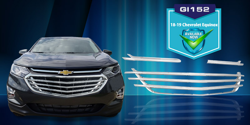 CCI Grille Overlays for Chevrolet Equinox