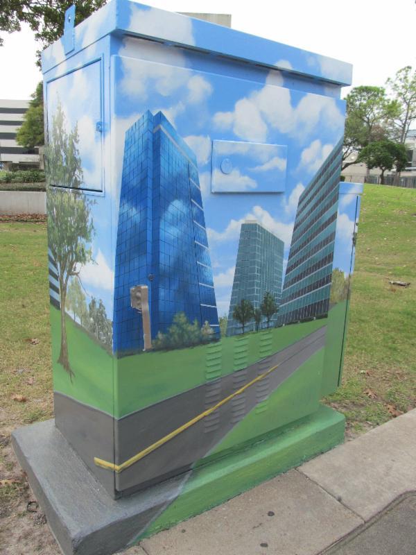 Skyscraper muralito