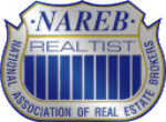nareb logo silver and gold