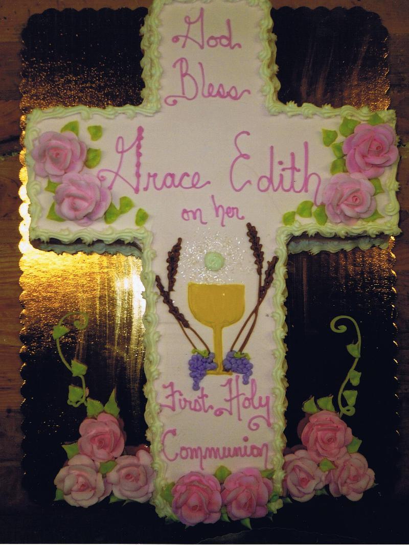 First Communion Cross Girl