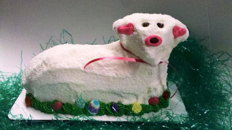 Lamb Cake Coconut