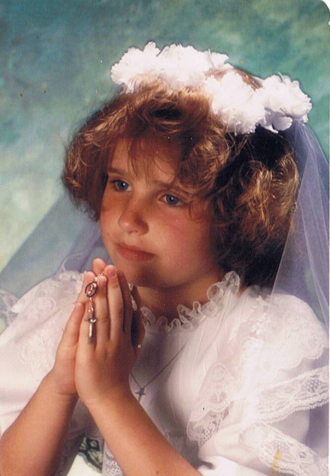 first communion picture