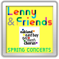Lenny & Friends, April 7, 14, 15