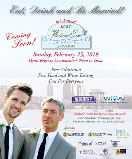 LGBT Wedding Expo, February 25