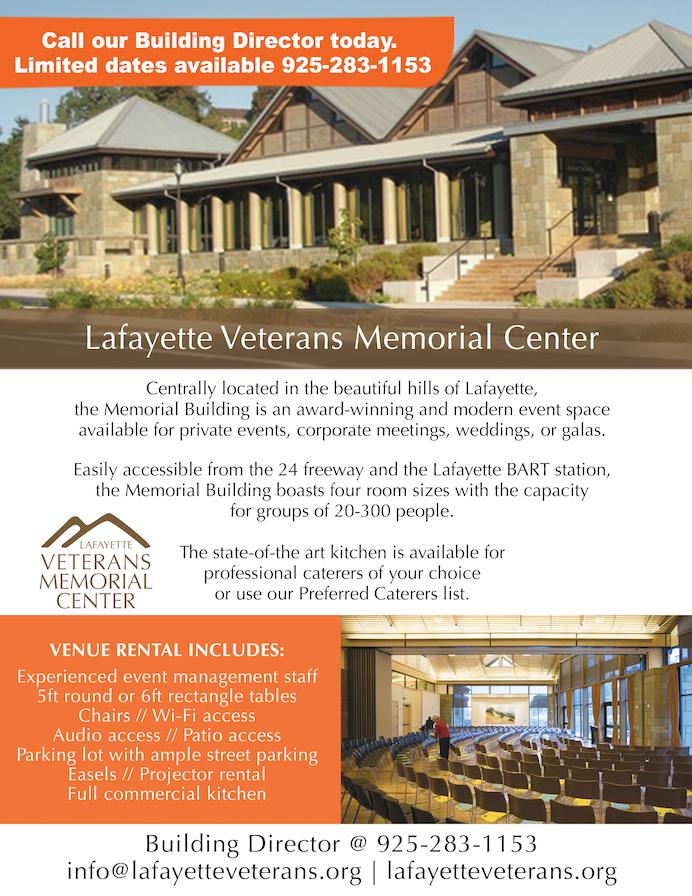 Lafayette Veterans Memorial Center
