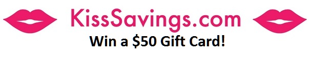 KissSavings Win $50 Gift Card