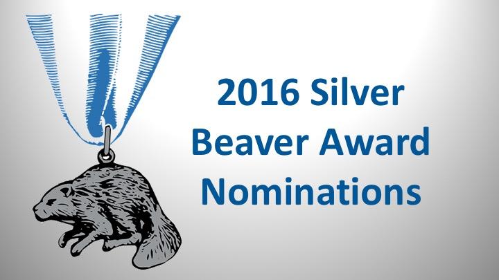 Silver Beaver Awards