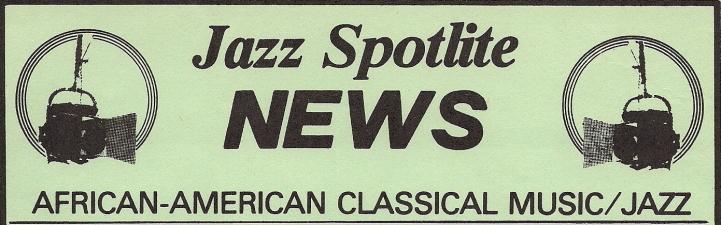 Jazz Spotlite News