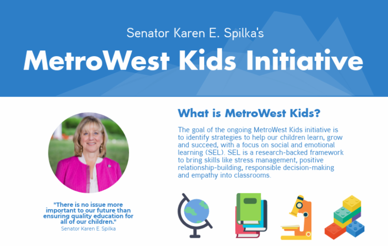 Senator Spilka Hosts Social-Emotional Learning Forum - Tuesday Jan 9 @ 6pm, Ashland